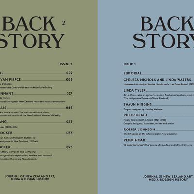 Back Story news